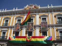 Palacio quemado, Bolivia