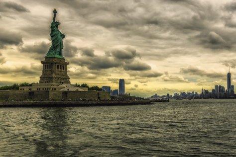 La estatua de lalibertad