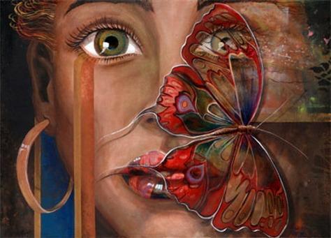 rostros-femeninos-con-mariposas