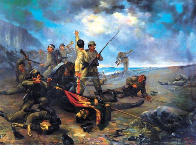 La tercera derrota de la guerra del Pacífico
