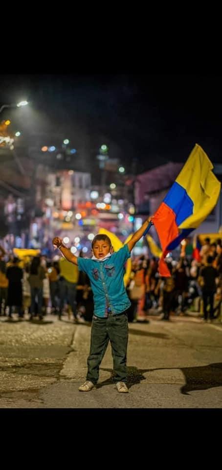 Rebelión en Colombia